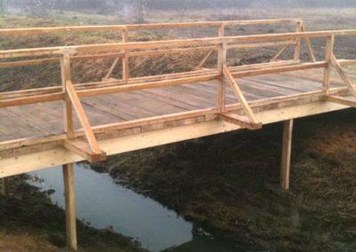 Most - izrada drvenog mosta (2)